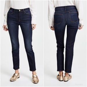 Frame Le High Straight Jeans Franklin Wash 24 NWT